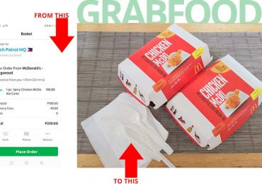 Can't leave your post? Mag Grab Food ka na, uy!