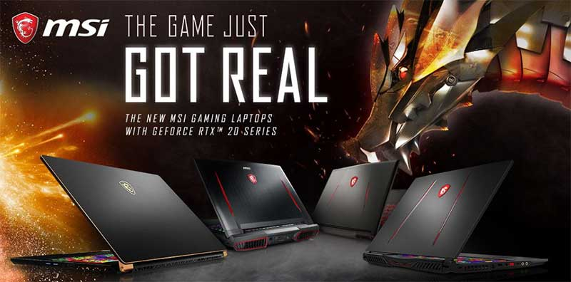 MSI Gaming: All-new GS75 Stealth and Full Gaming Laptop