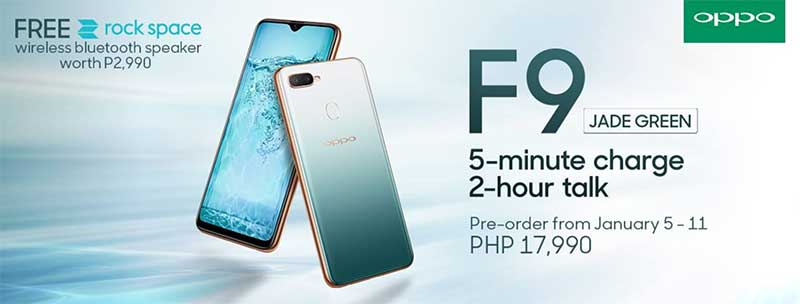 OPPO F9 Jade Green Price Philippines