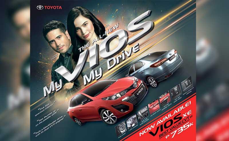 Toyota PH intros Toyota Vios XE