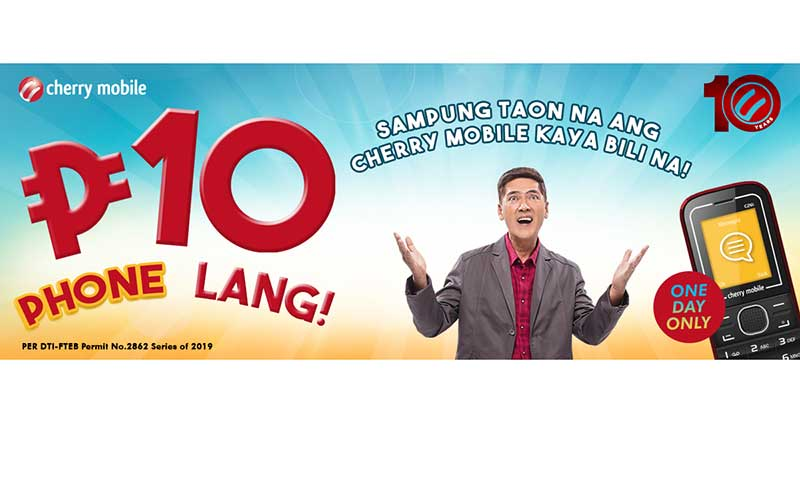 Cherry Mobile Promo 2019: BIGATEN PA-PROMO, get a Cherry Mobile Phone for only P10