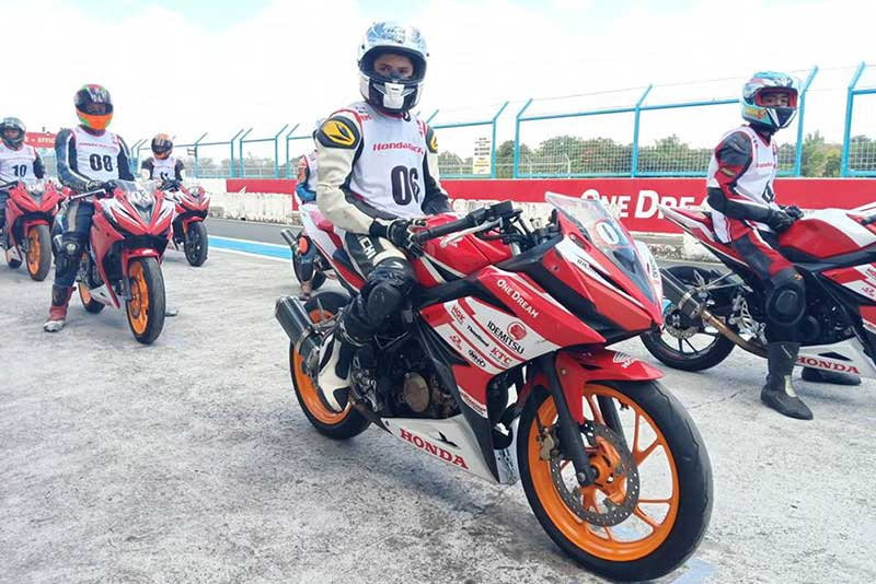 Honda PH begins 2019 racing season with  Honda Pilipinas Dream Cup Try-out