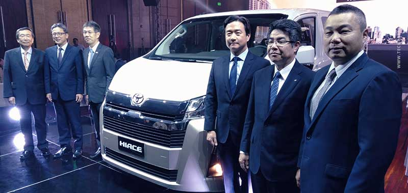 Toyota's All-New HiAce Series Debuts in the Philippines