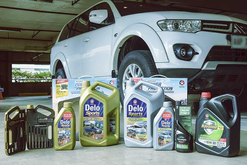 New Caltex Havoline and Delo Sports engine oils — car owners worry-free road trip partners