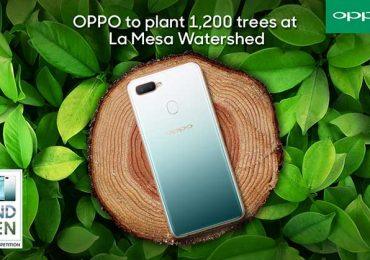 OPPO partners with Bantay Kalikasan to plant 1,200 trees at La Mesa Watershed