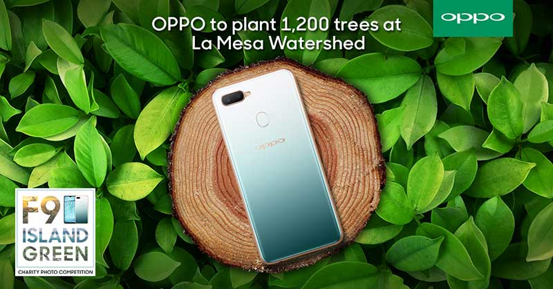 Photo of OPPO partners with Bantay Kalikasan to plant 1,200 trees at La Mesa Watershed
