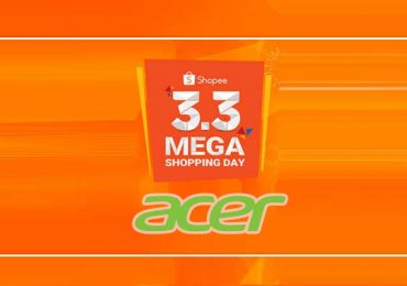 Five Acer products to get discount on Shopee's 3.3.3 Mega Shopping Day