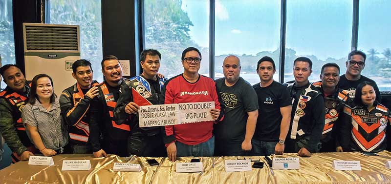 Photo of Angkas joined Rider Groups to oppose Doble Plate law