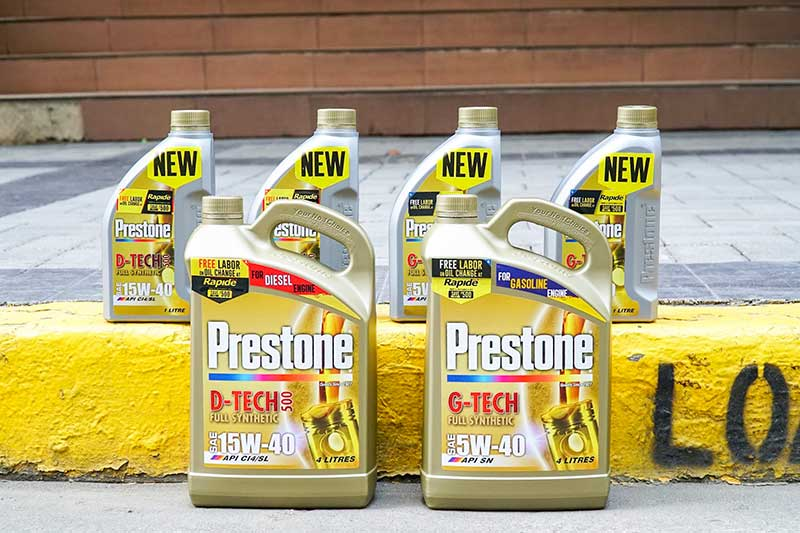 Get Free Labor on Oil Change with Prestone and Rapide