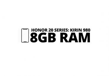 Honor 20 series will arrive with Kirin 980 and 8GB RAM