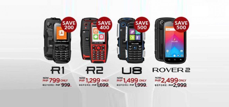 On Sale: Cherry Mobile Emergency Phones