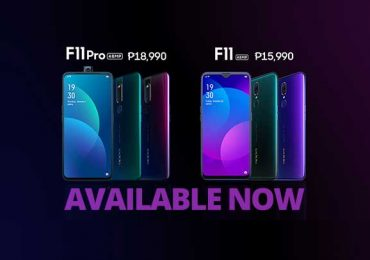 Both the F11 and F11 Pro are now available in PH