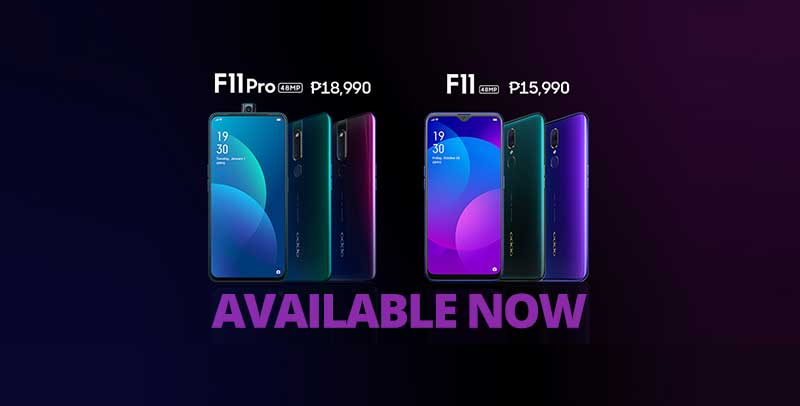 Photo of Both the F11 and F11 Pro are now available in PH