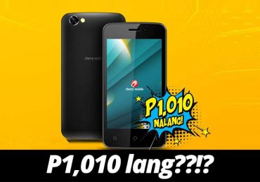 Phone for P1,010 only?!? Come on!!!