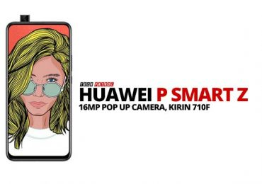 Huawei P Smart Z is now official