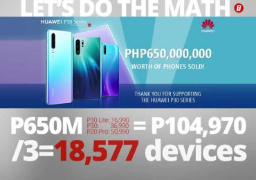 Huawei PH: We made P650M out of the P30 series!