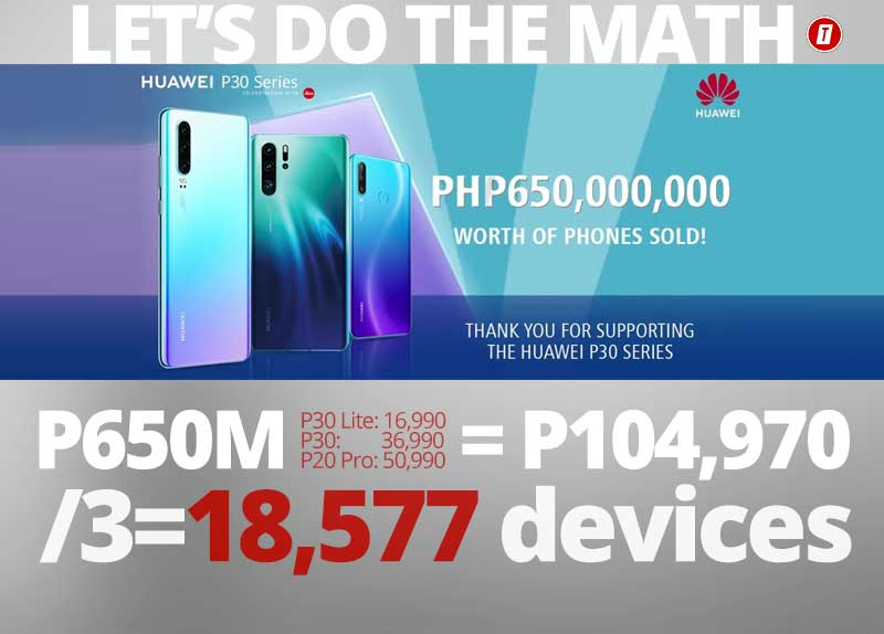 Photo of Huawei PH: We made P650M out of the P30 series!