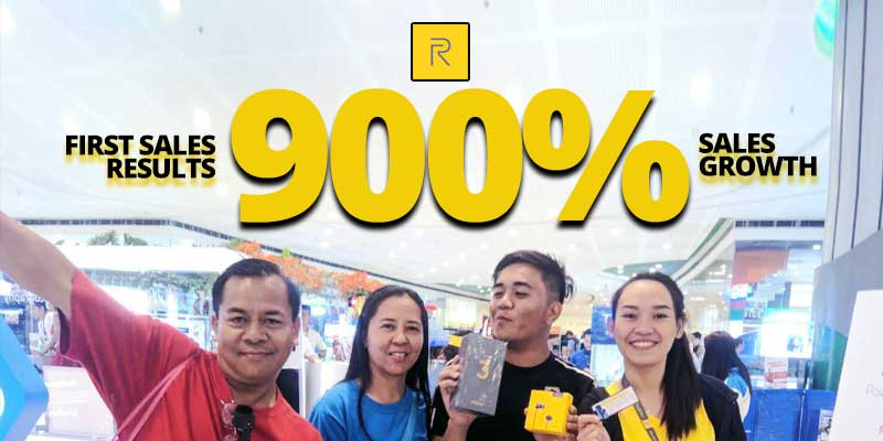 Realme 3 first offline sale a hit, recorded a 900% growth over brand's first ever in-store sale