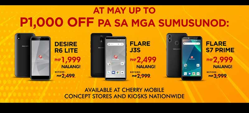 Cherry Mobile Bigaten: Phone For Only P1,010!