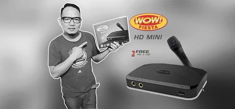 Must have gadget at home: WOW! Fiesta HD Mini; Sale on Shopee!