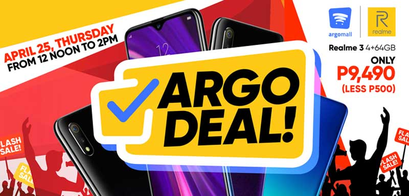 Photo of Realme seals partnership with Argomall, ready to dominate first 'Argo Deal' flash sale
