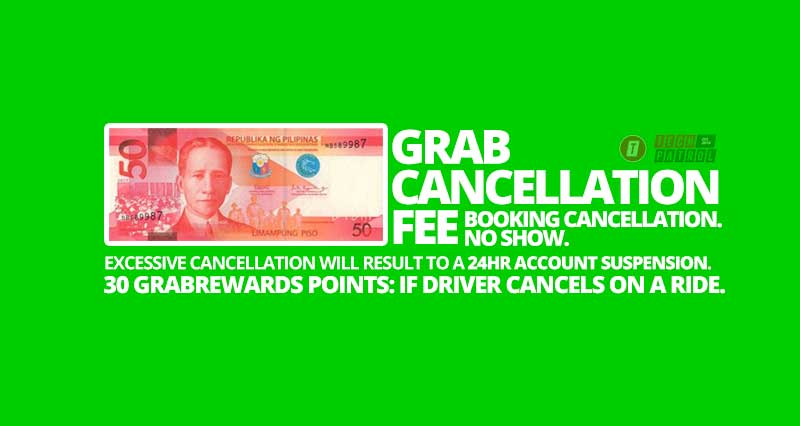 Photo of Grab will charge you P50 for cancelling a booking or a No-show within 5 minutes