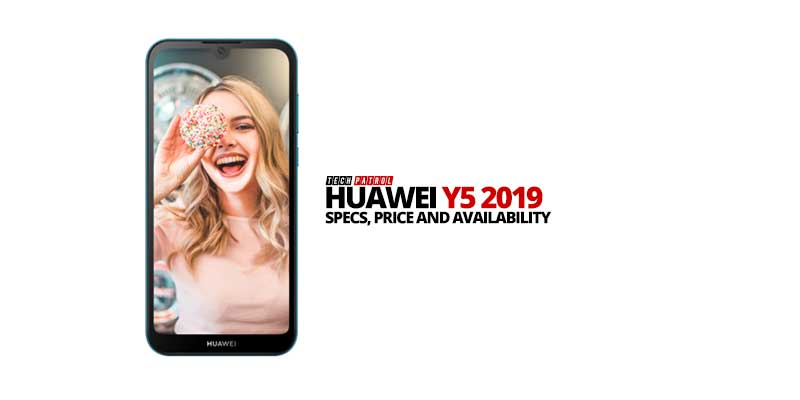 Huawei Y5 2019: Specs, Price and Availability