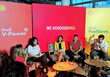 MOTORING: Maine Mendoza, Drew Arellano and Nico Bolzico are Shell PH's newest endorsers