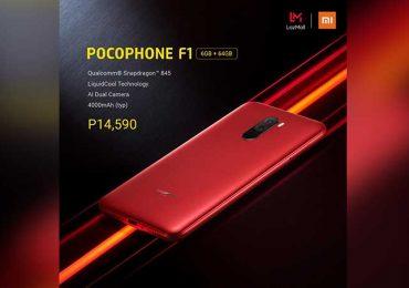 Xiaomi POCOPHONE F1 SRP update in PH