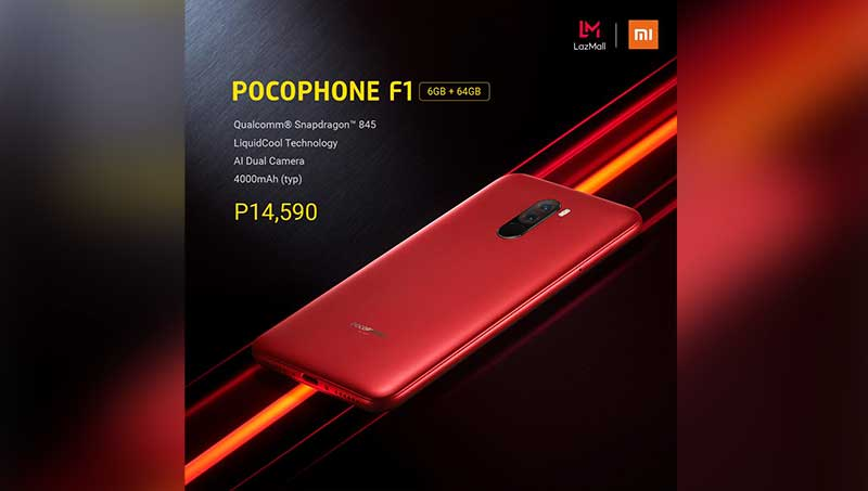 Xiaomi POCOPHONE F1 SRP update in PH