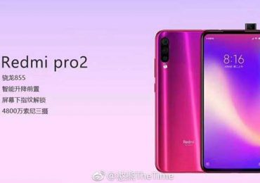 Redmi Pro 2 spotted with Snapdragon 855 and elevating selfie camera