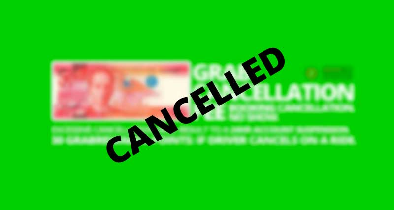 Photo of P50 Cancellation Fee suspended by LTFRB