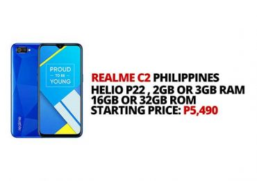 Realme PH launches C2 in the Philippines