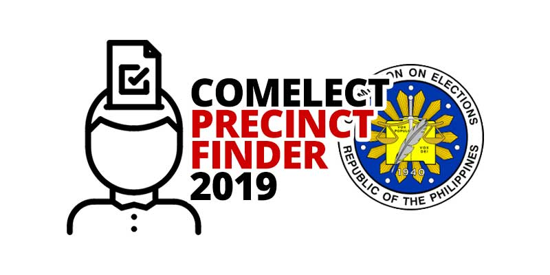 COMELECT Precinct Finder 2019
