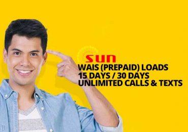 SUN Prepaid Promo: Sun Wais Loads