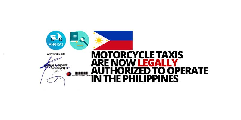 Photo of Angkas is now officially legal: Pilot run in Metro Manila and Cebu starting June until the end of the year!