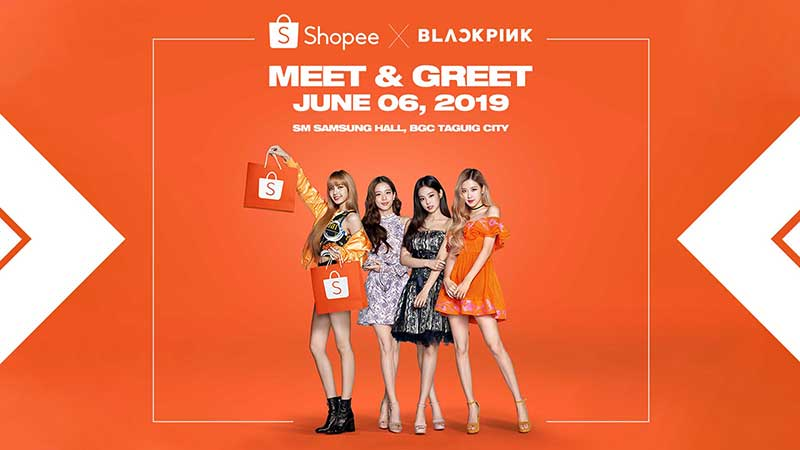 Shopee brings BLACKPINK to the Philippines for their first-ever Meet & Greet
