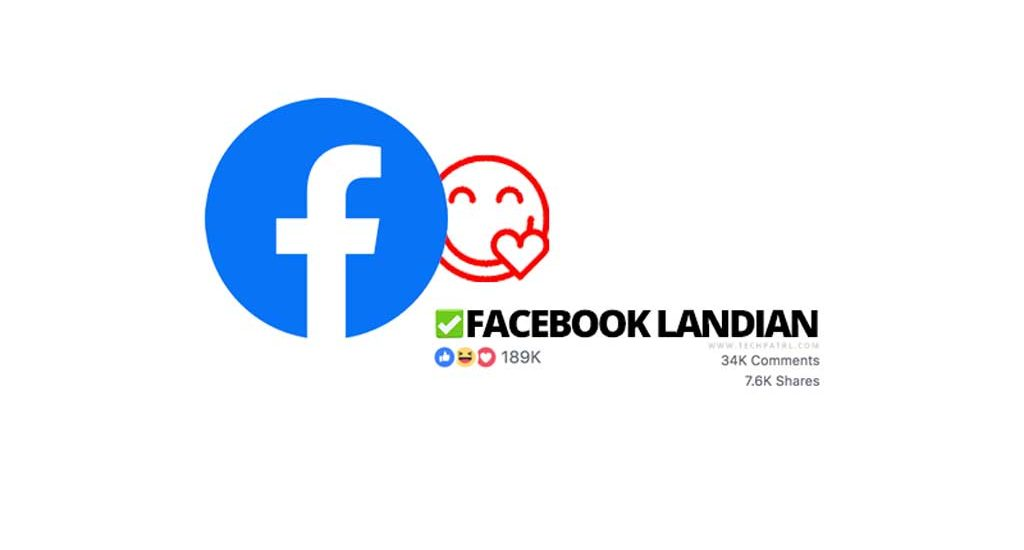 Coming Up: Facebook Landian!
