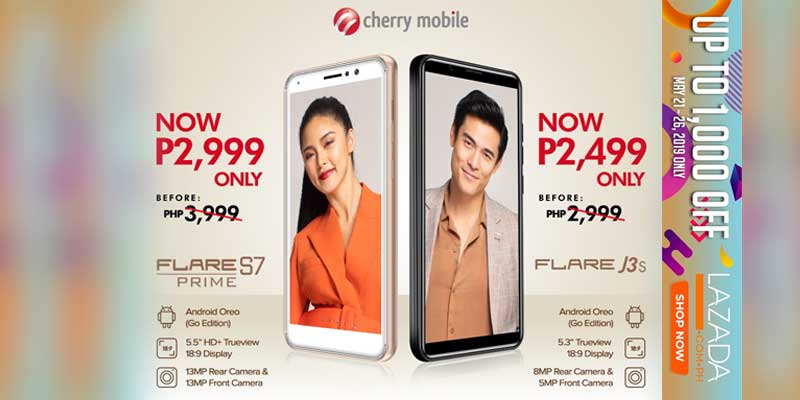 Flare S7 Prime and Flare J3s are on sale!