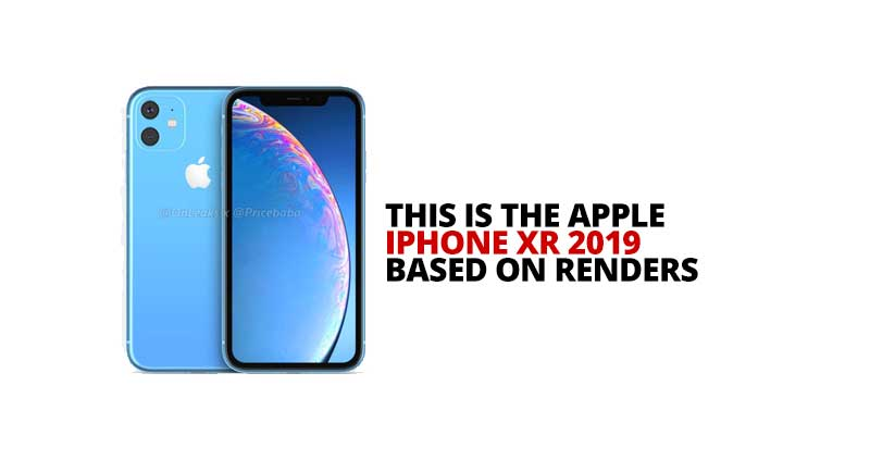 Photo of This is the iPhone XR 2019 based on these renders