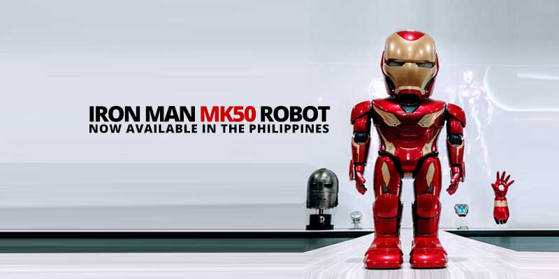 This Iron Man MK50 Robot retails for P16,990