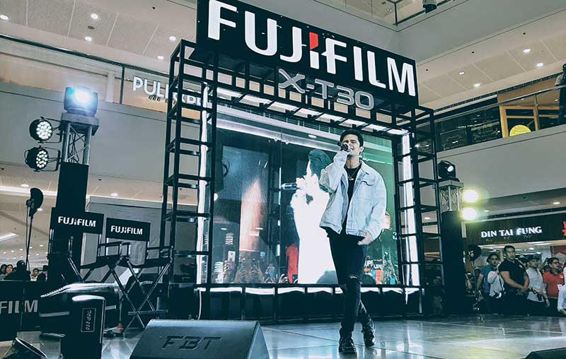 Photo of Fujifilm PH gets James Reid to launch the X-T30