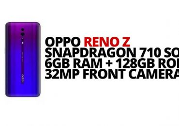 OPPO Reno Z announces in Europe with Snapdragon 710 SoC