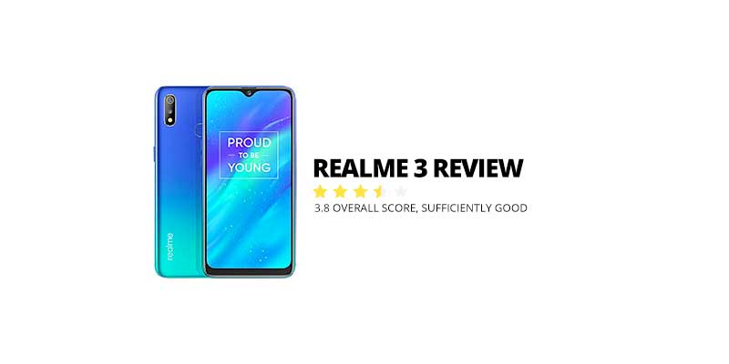Photo of Realme 3 Review