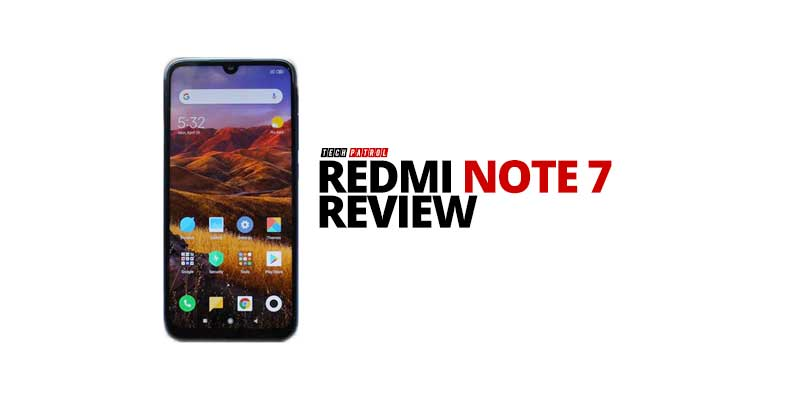 Photo of Redmi Note 7 Review