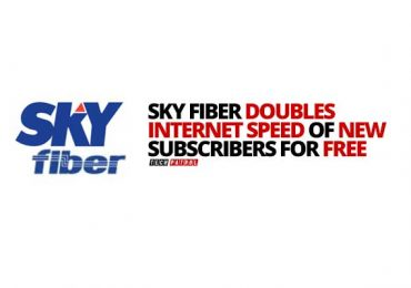 SKY Fiber customers get double speed for free