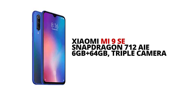 Xiaomi Mi 9 SE: Launching in PH on May 18, 2019