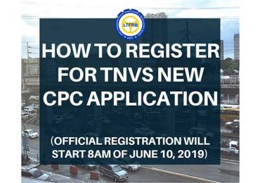 HOW TO Register for TNVS NEW CPC Application