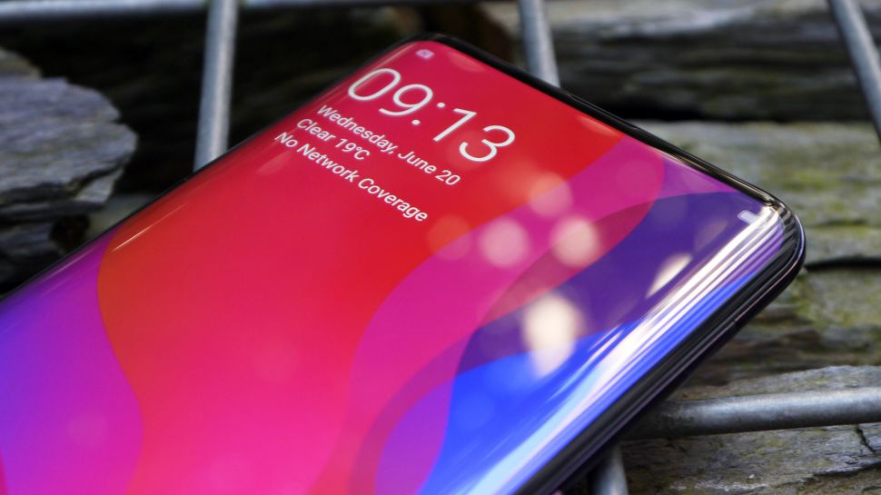 "Photo of OPPO has totally removed the notch with their ""under the display"" front camera smartphone"