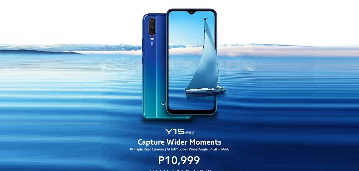 Vivo Y15 now available in PH for only P10,99